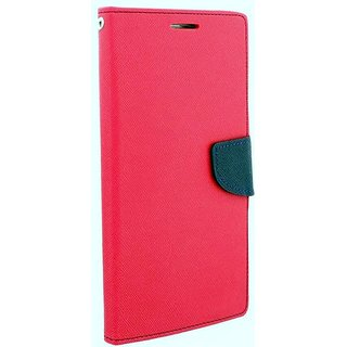 New Mercury Goospery Fancy Diary Wallet Flip Case Back Cover for Nokia Lumia 640 XL  (Pink)