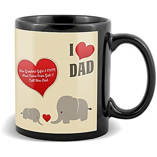 The Greatest Gifts I Ever Had Came From God with Red Heart Special Gift For Fathers Day  Mug