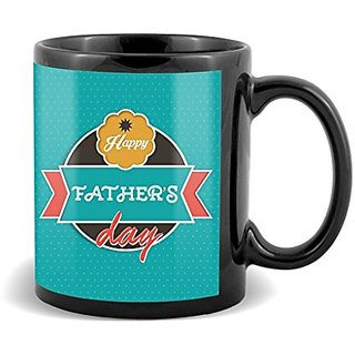 Happy Fathers Dad With Circle Background Green Unique Gifts For Happy Fatrhers Day  Mug
