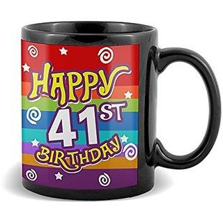 Happy 41st Birthday  Mug