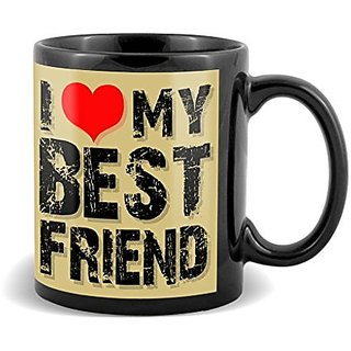 I Love My Best Friend With Red Romantic Special Gifts For Birthday And Anniversary  Mug