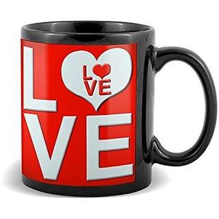 Love with multi colour  Mug Valetines