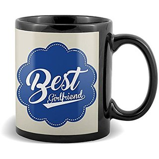 Best Girlfriend With Blue Color Special Gifts For Birthday And Anniversary  Mug