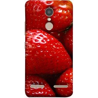 FUSON Designer Back Case Cover for Lenovo K6 Power (Best Fresh Strawberry Ice Cream Homemade Recipes)