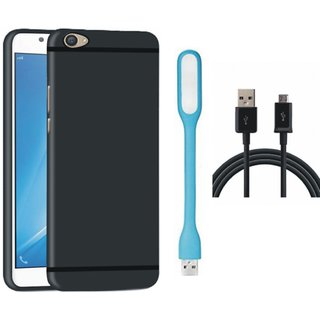 Lenovo K8 Stylish Back Cover with USB LED Light and USB Cable