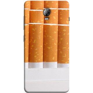FUSON Designer Back Case Cover for Lenovo Vibe P1 :: Lenovo Vibe P1 Turbo :: Lenovo Vibe P1 Pro (Cigarettes Case White Tobacco Foreign Lighter Light)