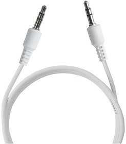 Pinnaclz Aux Cable 2m White  (Pack of 2)