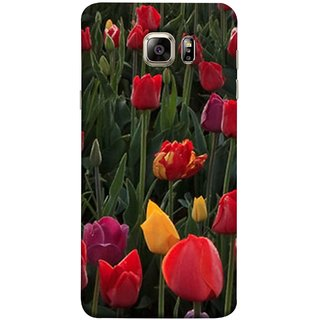 FUSON Designer Back Case Cover for Samsung Galaxy S6 Edge+ :: Samsung Galaxy S6 Edge Plus :: Samsung Galaxy S6 Edge+ G928G :: Samsung Galaxy S6 Edge+ G928F G928T G928A G928I (Dark Bold Red Roses Chocolate Hearts For Valentines Day)