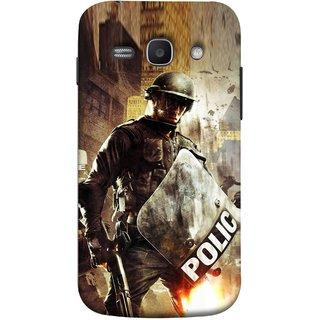 FUSON Designer Back Case Cover for Samsung Galaxy Ace 3 :: Samsung Galaxy Ace 3 S7272 Duos  :: Samsung Galaxy Ace 3 3G S7270 :: Samsung Galaxy Ace 3 Lte S7275 (Photograph Movie Scene Anti Terror Sqad Attacks )