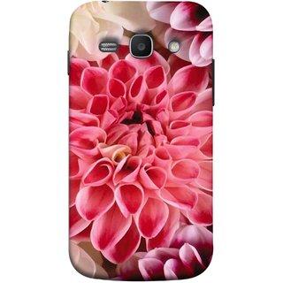 FUSON Designer Back Case Cover for Samsung Galaxy Ace 3 :: Samsung Galaxy Ace 3 S7272 Duos  :: Samsung Galaxy Ace 3 3G S7270 :: Samsung Galaxy Ace 3 Lte S7275 (Red Pink Backgound Florence Painting Wall Art)