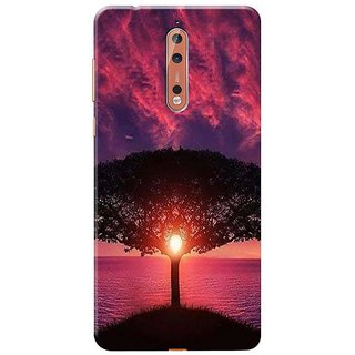 Beautiful Nature Mobile Cover for   Nokia 8