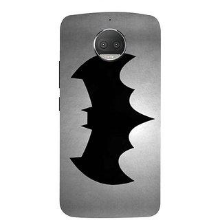 Motorola Moto G5S Plus Black Hard Printed Case Cover by HACHI - Batman Fans design