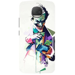 Motorola Moto G5S Plus Black Hard Printed Case Cover by HACHI - Joker Fans design