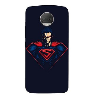 Motorola Moto G5S Plus Black Hard Printed Case Cover by HACHI - Superman Fans design