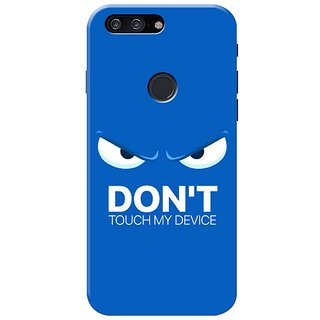 Don't Touch My Device Mobile Cover for   One Plus 5T