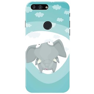 Baby Elephant Mobile Cover for   One Plus 5T