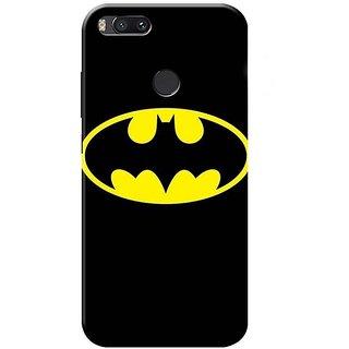 Redmi A1 Black Hard Printed Case Cover by HACHI - Batman Fans design