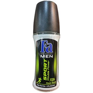 IMPORTED FA SPORT DOUBLE POWER FOR MEN - 50 ML