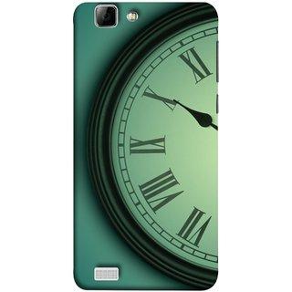 FUSON Designer Back Case Cover For Vivo X3S (Time Lapse Of Antique Clock Old Wooden Vintage Time)