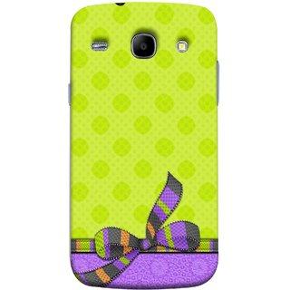 FUSON Designer Back Case Cover for Samsung Galaxy Core I8260 :: Samsung Galaxy Core Duos I8262 (Pista Green Colour Gift Wrap Packing Wallpaper)