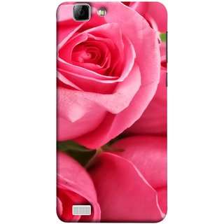 FUSON Designer Back Case Cover For Vivo X3S (Close Up Red Roses Chocolate Hearts For Valentines Day)
