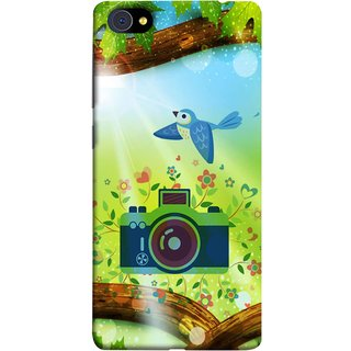 FUSON Designer Back Case Cover For Vivo X5Pro :: Vivo X5 Pro (Camera Nature Flowers Blue Sky White Clouds Beautiful )