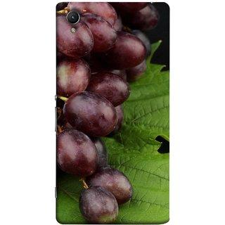 FUSON Designer Back Case Cover For Sony Xperia Z1 :: Sony Xperia Z1 L39h :: Sony Xperia Z1 C6902/L39h :: Sony Xperia Z1 C6903 :: Sony Xperia Z1 C6906 :: Sony Xperia Z1 C6943  (Nature Farm Wine Organic Farm Agriculture Autumn )