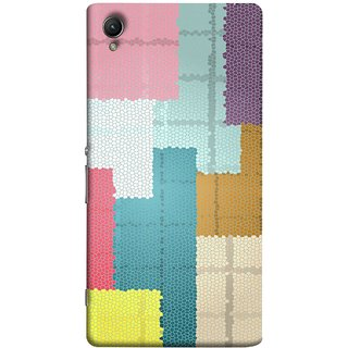 FUSON Designer Back Case Cover For Sony Xperia Z1 :: Sony Xperia Z1 L39h :: Sony Xperia Z1 C6902/L39h :: Sony Xperia Z1 C6903 :: Sony Xperia Z1 C6906 :: Sony Xperia Z1 C6943  (Ceramic Tiles Hall Bathroom Home Decor Pattern)