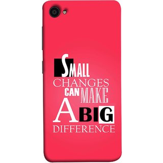 FUSON Designer Back Case Cover for Lenovo ZUK Z2 :: Lenovo Zuk Z2 Plus (Chote Chote Badlav Bada Farak Best Quotes Sayings)