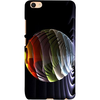 FUSON Designer Back Case Cover For Vivo Y55L :: Vivo Y55 (Red Bubbles Unique Whimsical Fantasy Fine Art Spots)