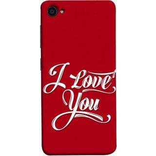 FUSON Designer Back Case Cover for Lenovo ZUK Z2 :: Lenovo Zuk Z2 Plus (I Love You Always Lovers Valentine Hearts Kiss )