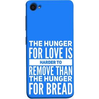 FUSON Designer Back Case Cover for Lenovo ZUK Z2 :: Lenovo Zuk Z2 Plus (Love Bhukh Pyar Hunger For Bread Roti Hard Soft)