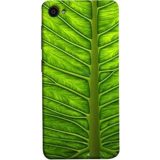 FUSON Designer Back Case Cover for Lenovo ZUK Z2 :: Lenovo Zuk Z2 Plus (Bright Green Leaf Of Tree Full Of Life Network Of Veins)