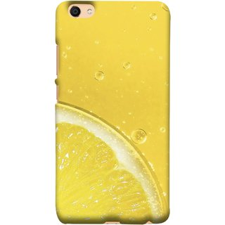 FUSON Designer Back Case Cover For Vivo Y55L :: Vivo Y55 (Farm Fresh Fruits Lemons Fresh Juicy Beer Pitcher )