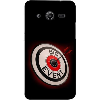 FUSON Designer Back Case Cover for Samsung Galaxy Core 2 G355H :: Samsung Galaxy Core Ii :: Samsung Galaxy Core 2 Dual (Big Event Bulls Eye Arrow Target Sign Bang On)