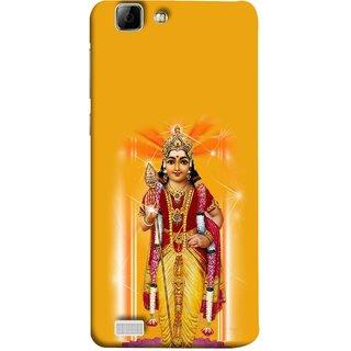 FUSON Designer Back Case Cover For Vivo Y27 :: Vivo Y27L (Maryada Purshottam Hindu God Lotus Vishnu )