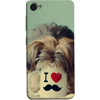 FUSON Designer Back Case Cover for Lenovo ZUK Z2 :: Lenovo Zuk Z2 Plus (Dog Baby Coffee Breakfast Tea Best Morning Loyal )