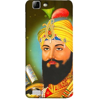 FUSON Designer Back Case Cover For Vivo Y27 :: Vivo Y27L (King Beautiful Frame God His Mission Blesses Eagle)