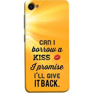 FUSON Designer Back Case Cover for Lenovo ZUK Z2 :: Lenovo Zuk Z2 Plus (Lips Kisses I Promise I Will Give It Back Valentine)