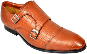 Allen Cooper Mariano Tan Men'S Leather Formal Shoes