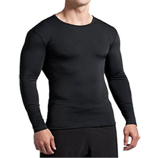 Bloomun Full Sleeve Black Compression / Inner Tight Tops