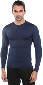Bloomun Full Sleeve Deep Navy Compression / Inner Tight Tops