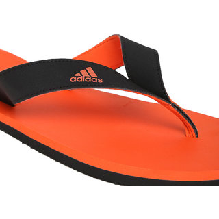 bf3a1f6d9319 ADIDAS ORANGE BLACK EZAY MAX OUT SLIPPERS FLIP-FLOPS