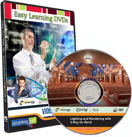 Lighting and Rendering with V-Ray for Revit Video Training Tutorial DVD