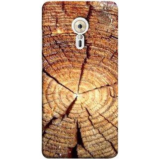 FUSON Designer Back Case Cover for Lenovo ZUK Z2 Pro (Lot Of Cracks In Tree Wood Wild Old Tree)