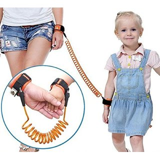 Safety Harness Leash Anti-lost Wrist Link Traction Rope for Toddler Kids Walking