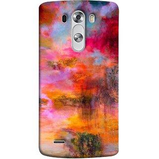 FUSON Designer Back Case Cover for LG G3 :: LG G3 Dual LTE :: LG G3 D855 D850 D851 D852 (Random Painting Rare Beautiful Husain Chitrakar Nice)
