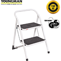 Youngman two step stool step ladder for kitchen