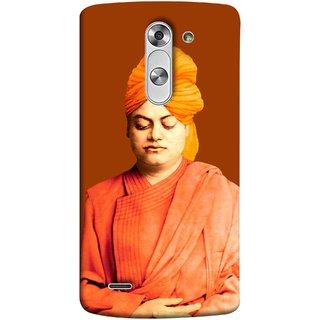 FUSON Designer Back Case Cover for LG G3 Stylus :: LG G3 Stylus D690N :: LG G3 Stylus D690 (Devotion Quotes Of Swami Equated Raja Yoga Spirit)