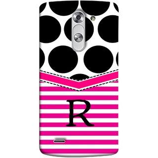 FUSON Designer Back Case Cover for LG G3 Stylus :: LG G3 Stylus D690N :: LG G3 Stylus D690 (Beautiful Cute Nice Couples Pink Design Paper Girly R)